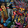 New Orleans Zydeco Print